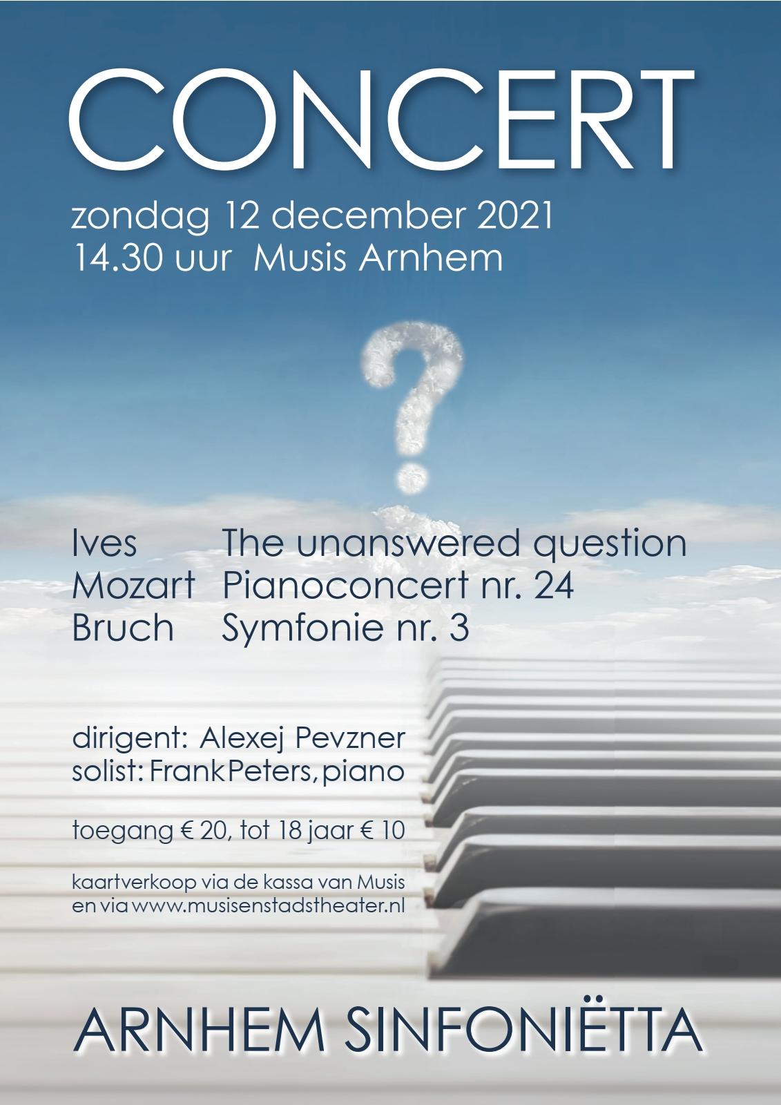 aankondiging concert